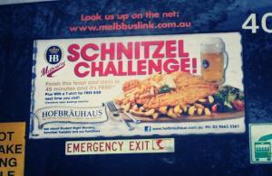 Schnitzel Challenge