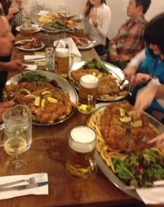 Three HUGE plates