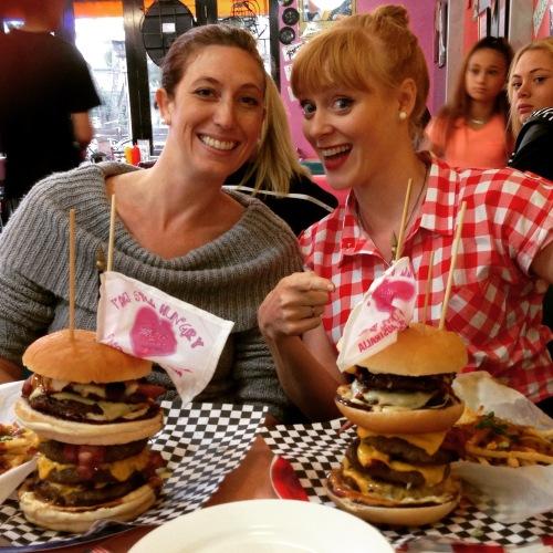 Misty's diner burger challenge