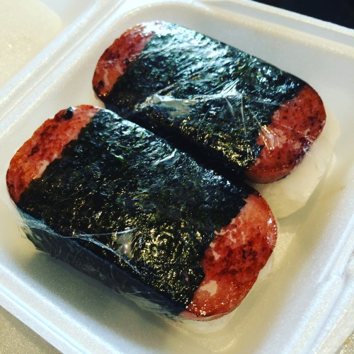 Spam Musubi Hawaiian Food