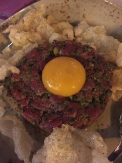 Steak tartare at Northern Git