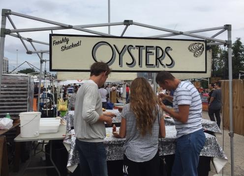Oysters Smorgasburg New York