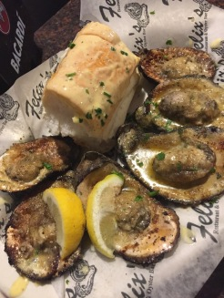Chargilled Oysters New Orleans