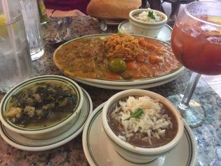Jumbalaya, Gumbo, Shrimp Creole, Crawfish Ettouffee from Gumbo Shop