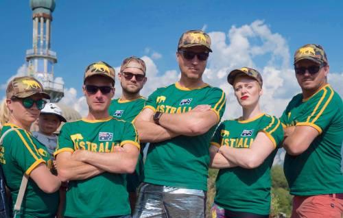 Australian hide and seek team - The NasconDingos