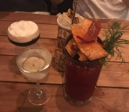 Cocktails at Mjolner