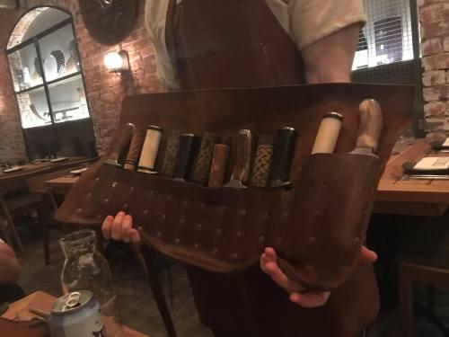 Choose your knife at Mjolner