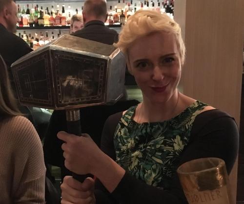 Thor's hammer at Mjolner