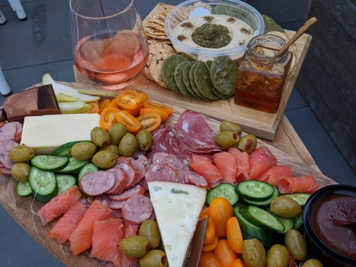 Amazing grazing platter