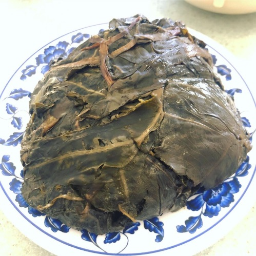 A serve of Laulau from Helena's Hawaiian Food