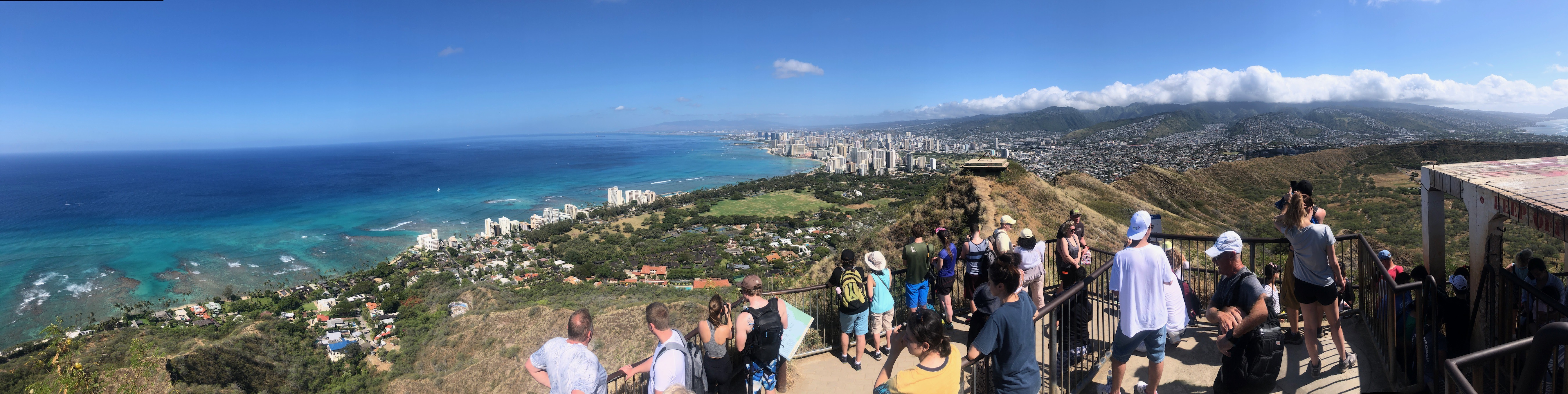 Top of Diamond Head Hike Oahu